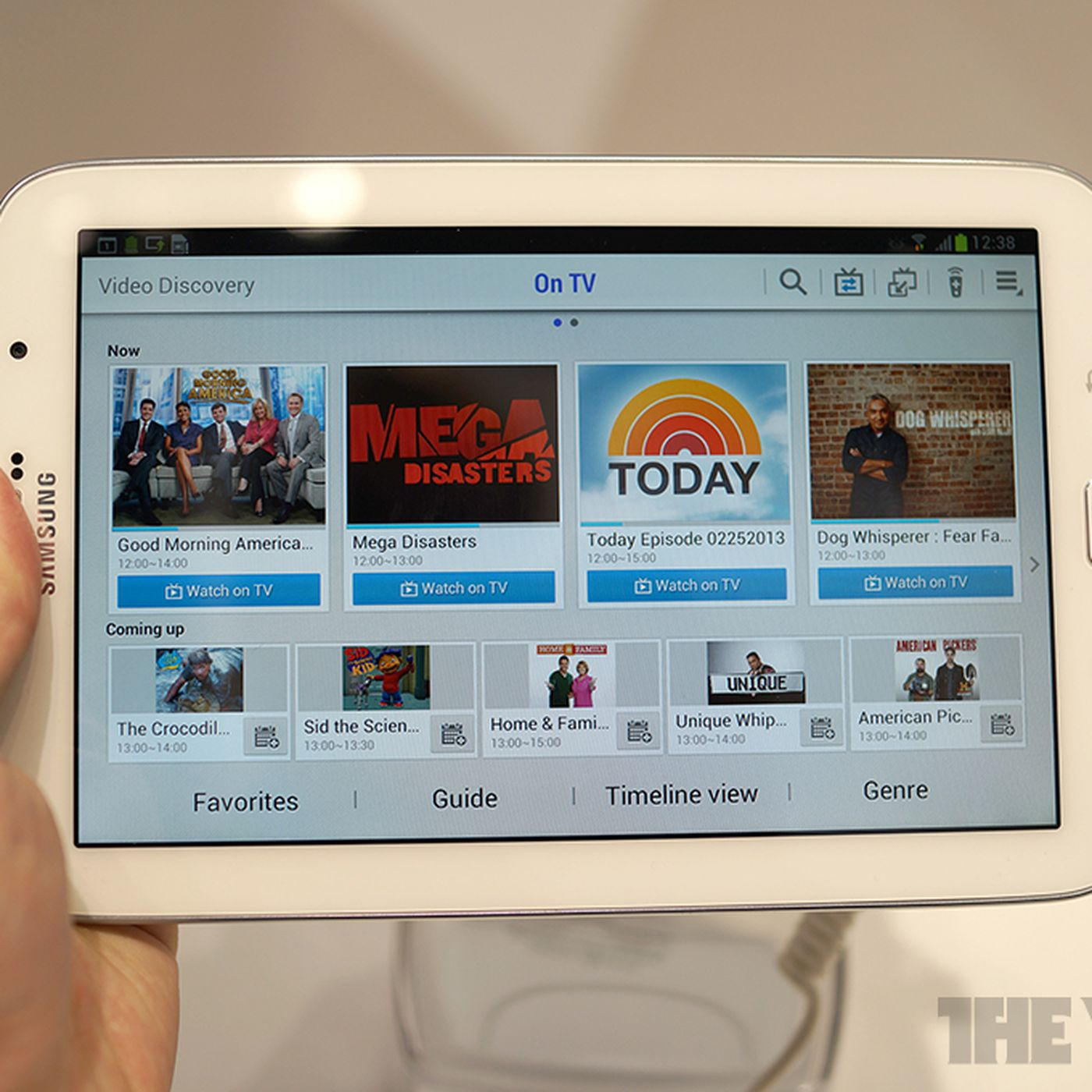Samsung's Video Discovery app turns your tablet into a super-sized