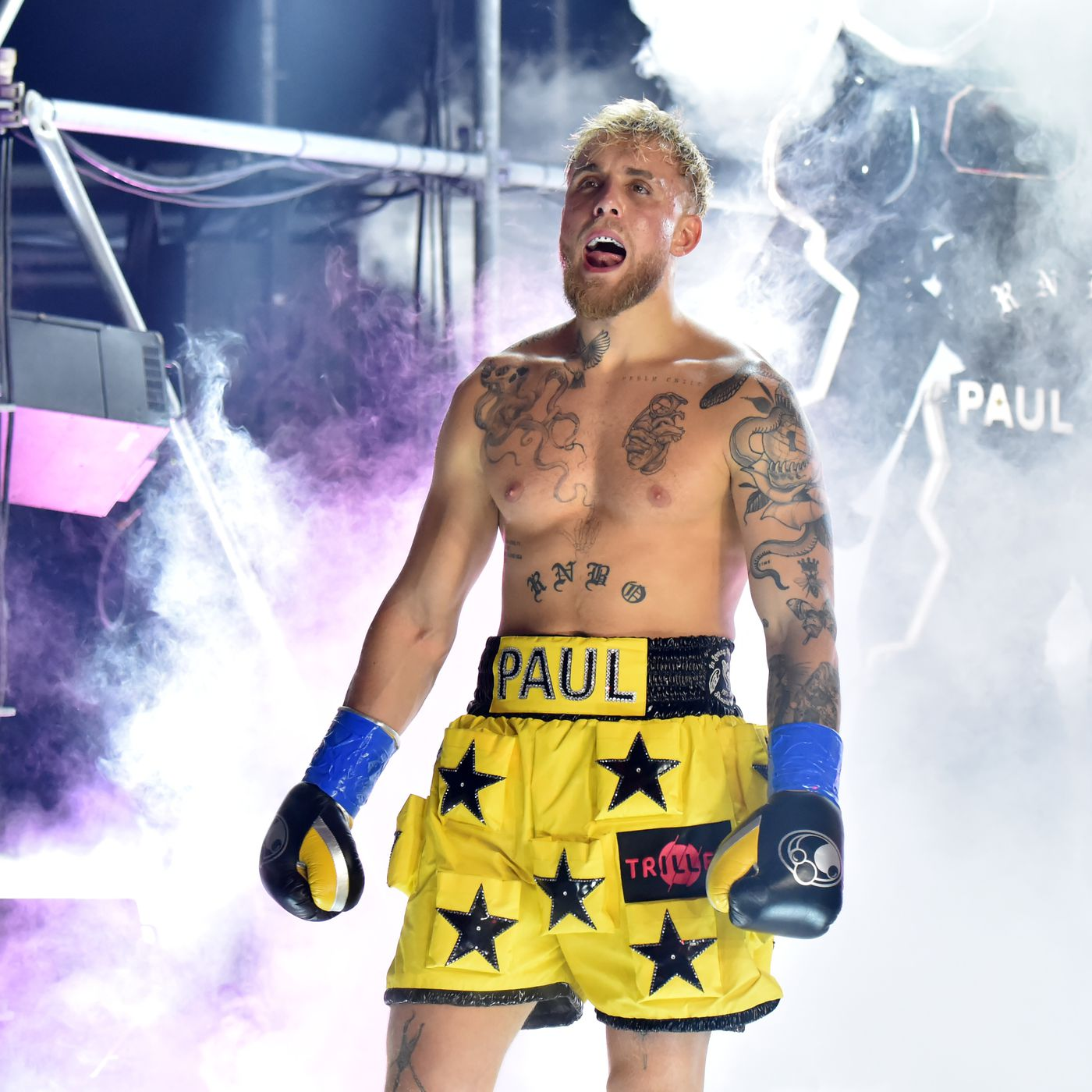 Coach Jake Paul Using Steroids For Tyron Woodley Fight But Ufc Vet Will Box Totally Natural Mmamania Com