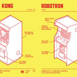 'Donkey Kong' and 'Robotron: 2084'