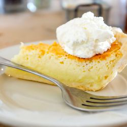 Coconut cream pie at Hominy Grill in Charleston