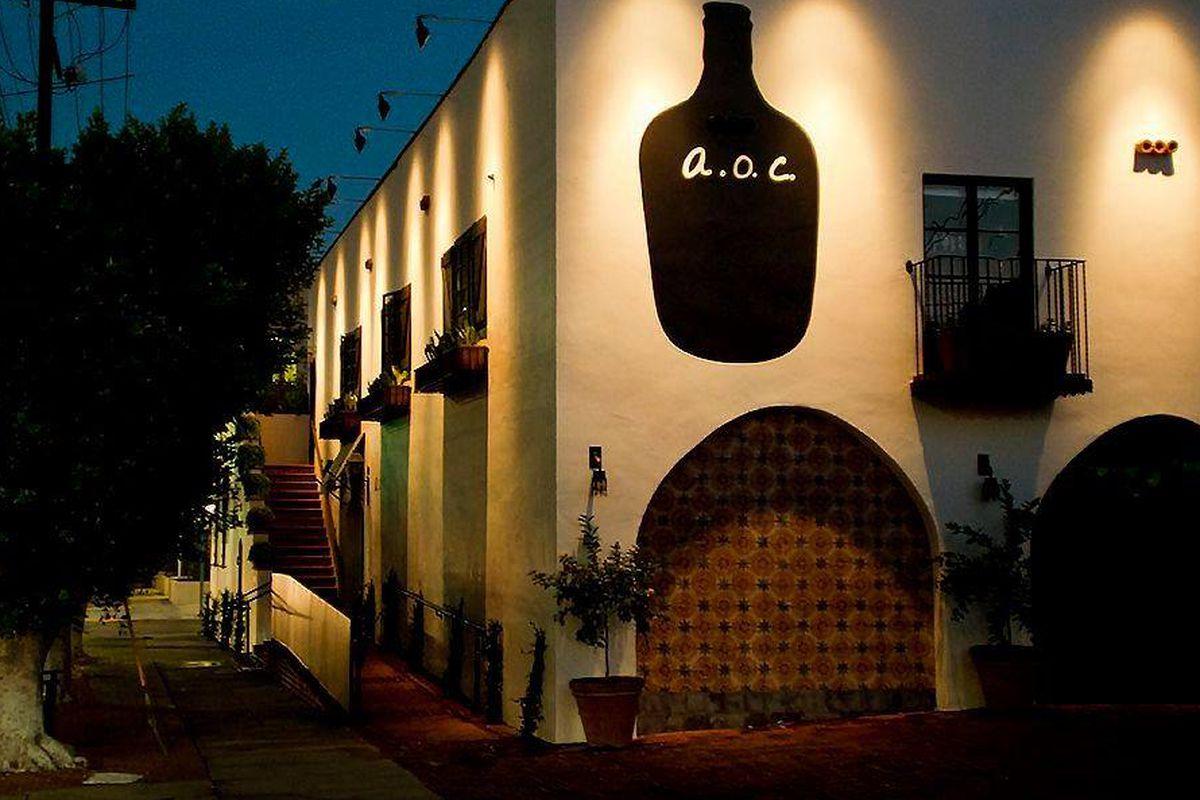 a.o.c. restaurant in West Hollywood, California