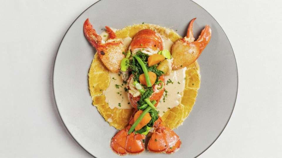 Lobster pot pie at Michael Mina