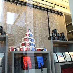 "Mugs, <a href=""http://shop.npr.org/use/eat-drink/npr-logo-wrap-mug"">$16.</a> Image credit: Caitlin Sanders/NPR"