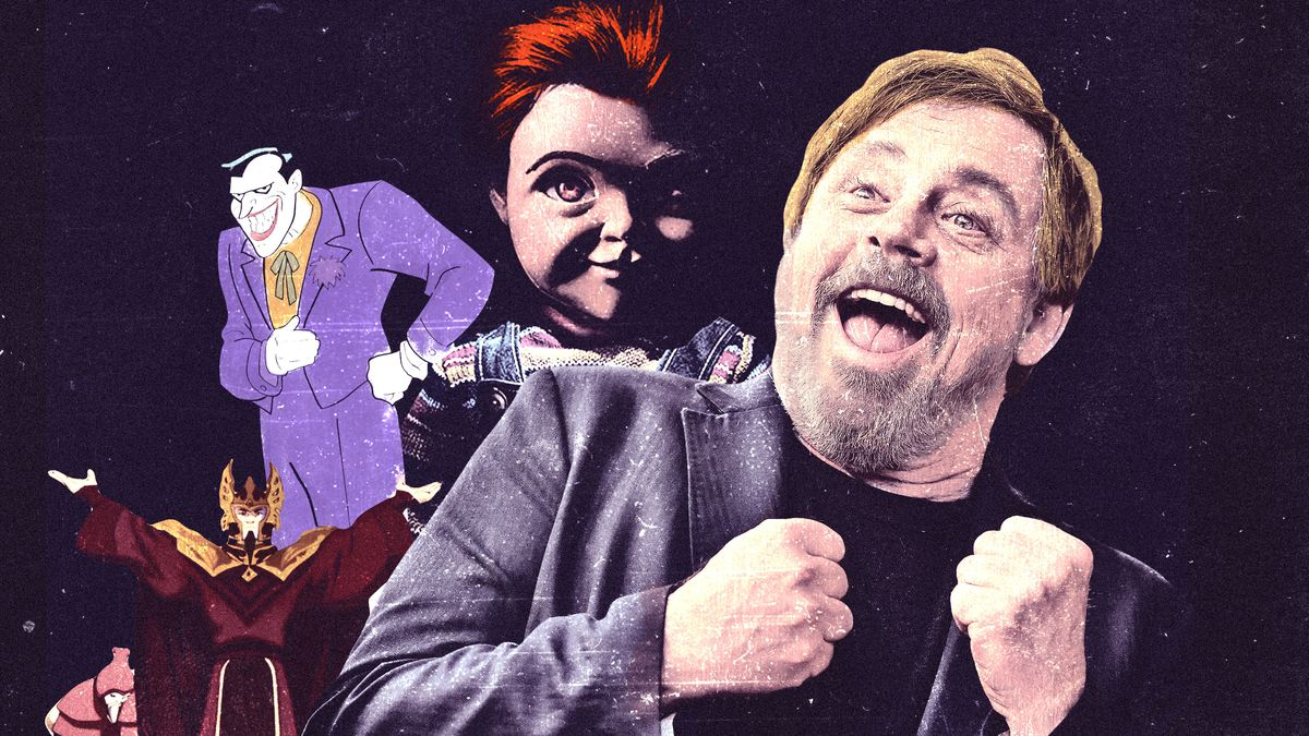 How Mark Hamill Became Most Sought-After Villainous Voice in