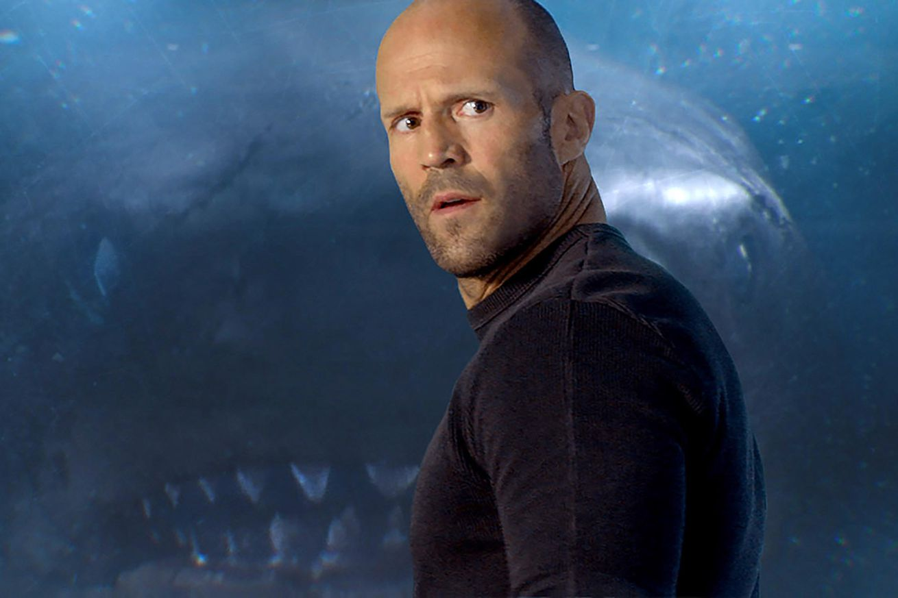 the trailer for the giant shark movie the meg is a wild clash of tones and bodies