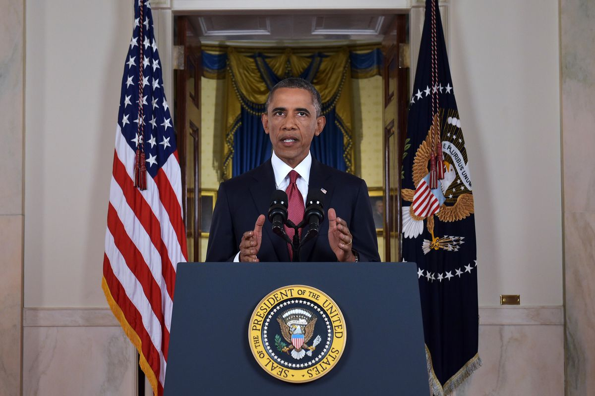 Obama delivers his September 10th strategy outlining the counter-ISIS strategy.