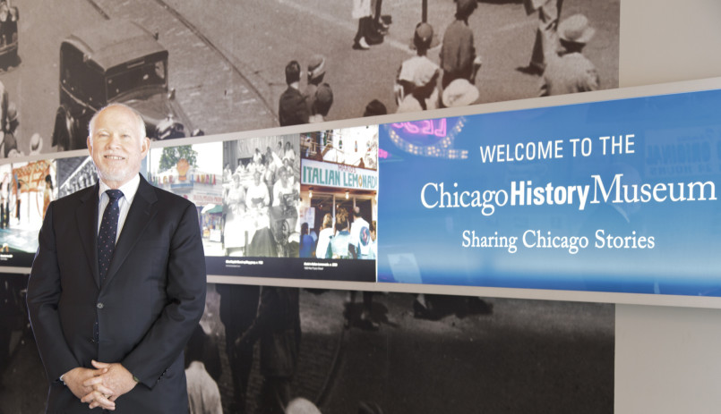 Russell L. Lewis Jr. oversaw expansions during his 36 years at the Chicago History Museum. From 2005 until his retirement this year, he was chief historian and executive vice president.   Chicago History Museum