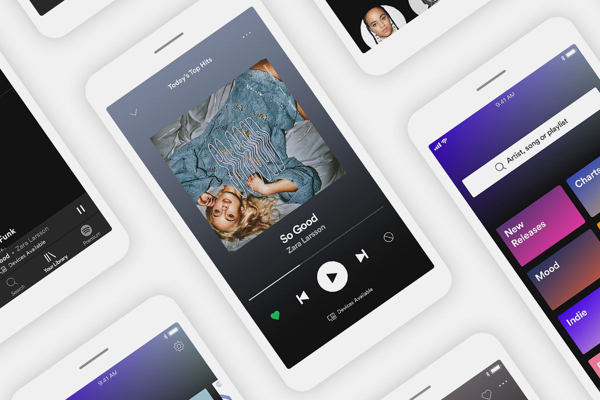 Spotify launches new mobile app with more free music - Vox