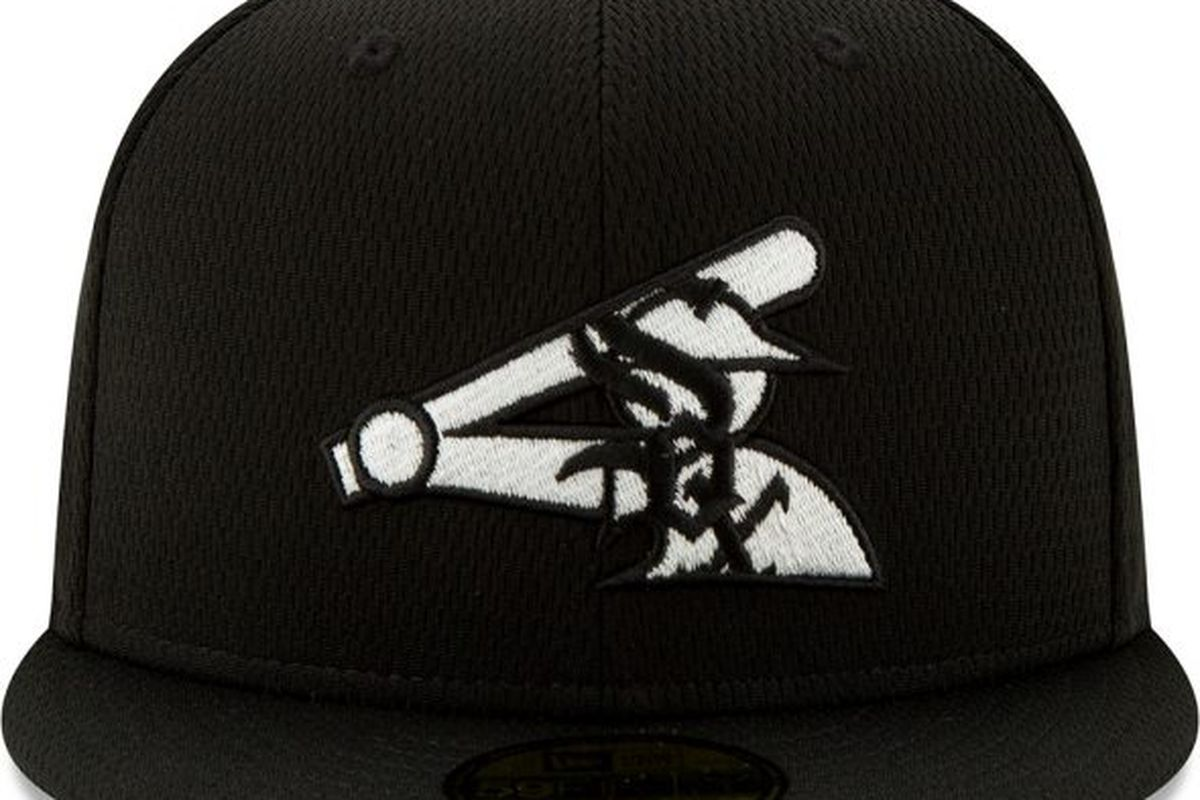 The White Sox' new spring training and batting practice cap.