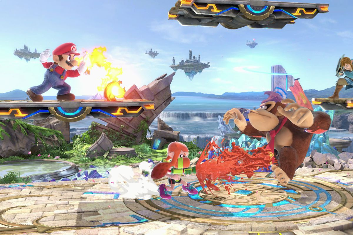 Smash Bros Fans Are Using Portals To Turn Fights Into Dragon Ball Z