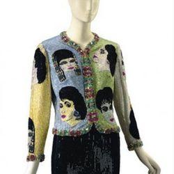 Versace Beaded Evening Jacket