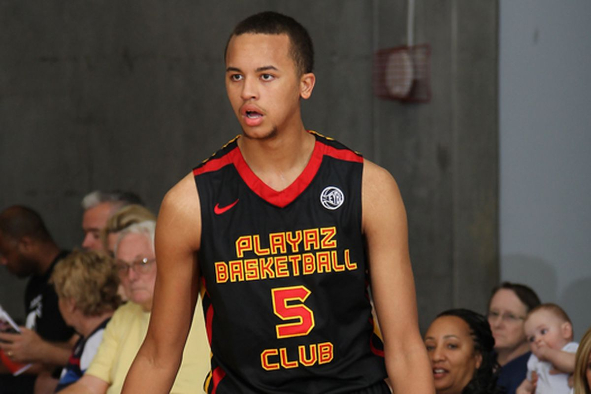 Kevin Willard & Shaheen Holloway have been keeping a close eye on Kyle Anderson (Playaz Basketball Club) this month. (Kelly Kline)