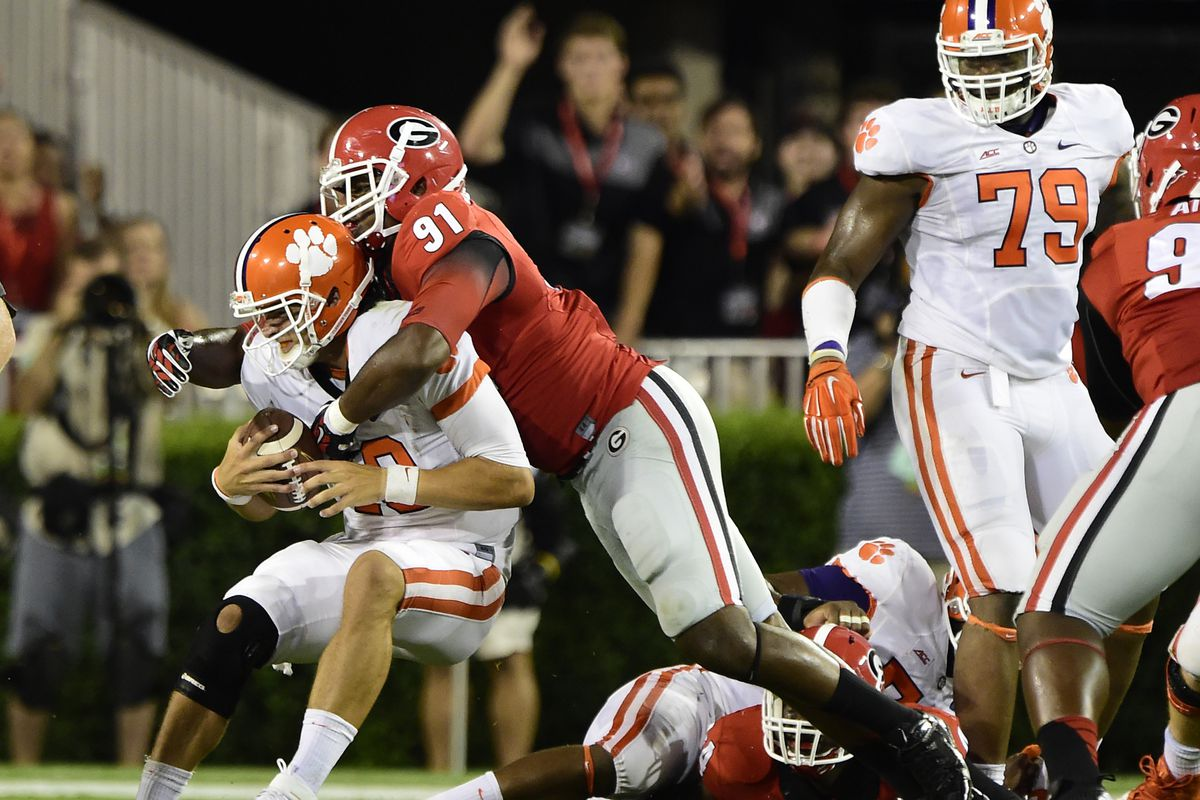 The Georgia defense may be the biggest obstacle to a Carolina victory on Saturday night.