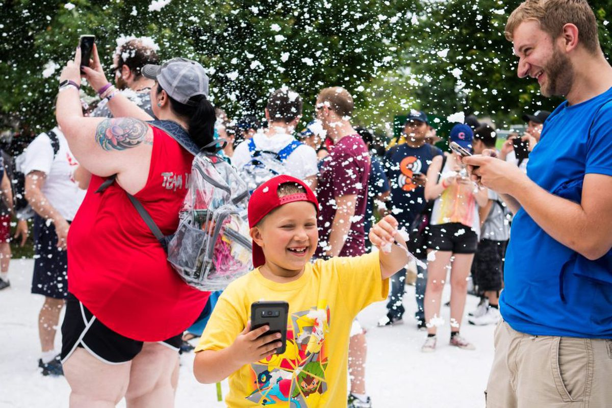 Pokémon Go Fest 2018 kicks off in Lincoln Park - Chicago Sun-Times
