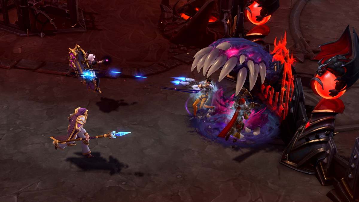 Heroes Of The Storm Has Found Its Identity In The Moba Genre Polygon Rich was playing orphea yesterday(vod on youtube) and in the late game he basically solo killed anubarak from almost full health. heroes of the storm has found its