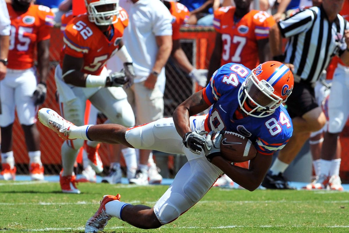 Wideout Quinton Dunbar can play. Now Florida just needs someone who can throw Dunbar the ball.