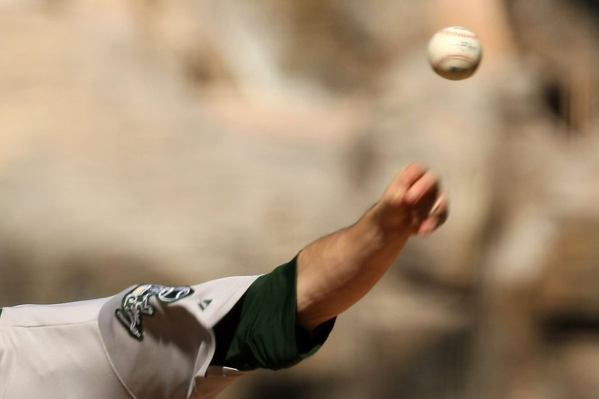 Artist's rendering of what Overton's arm might look like when pitching.