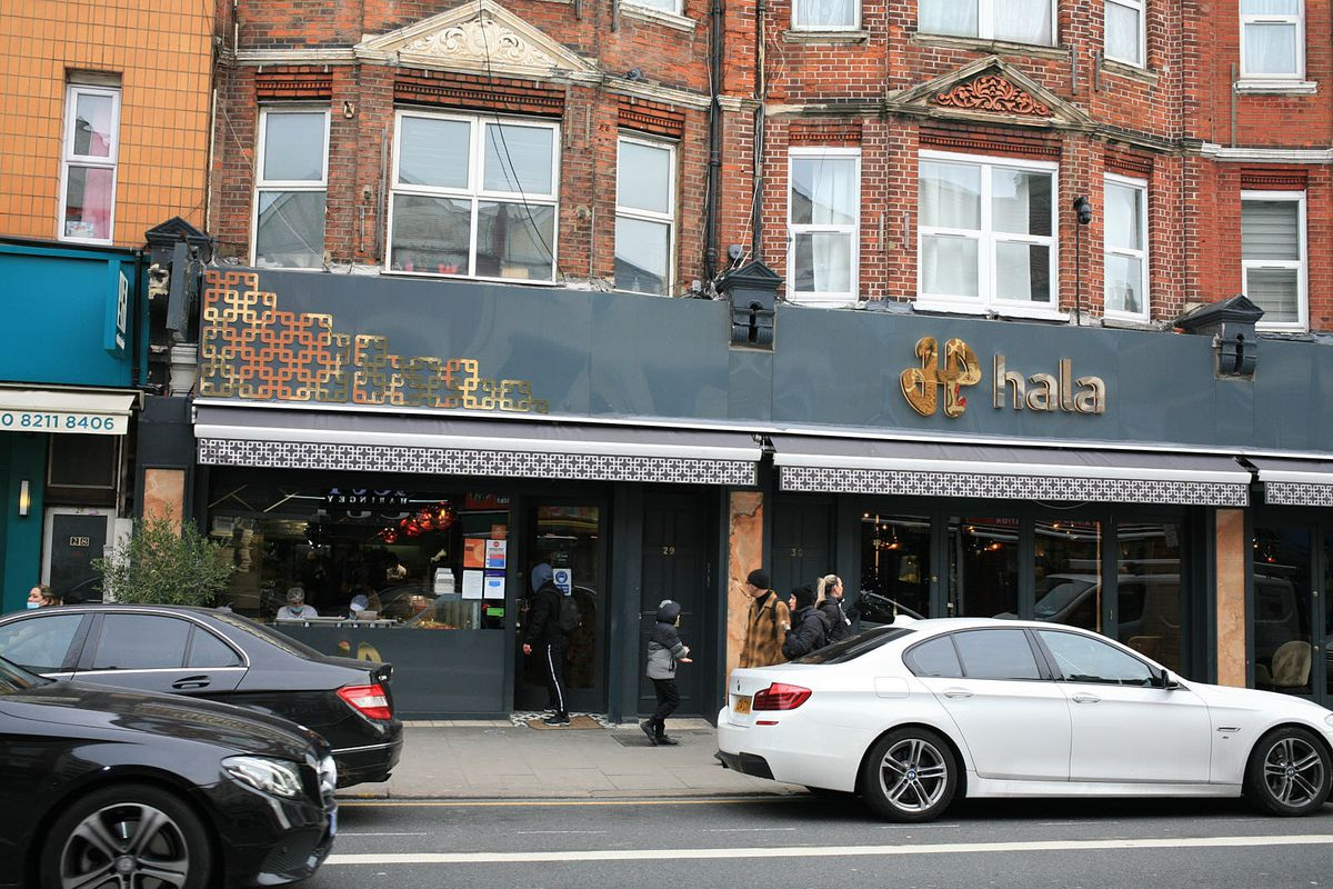 Hala Turkish restaurant on Green Lanes in North London