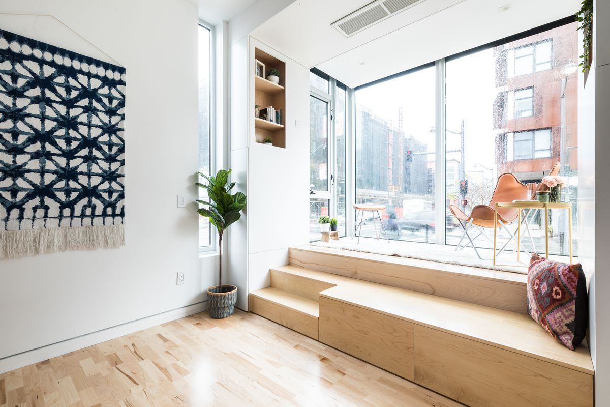 Tiny home solution: Inside the modular home inspired by dumpster ...