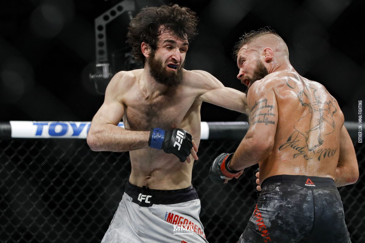 Zabit Magomedsharipov out of co-main event fight against Calvin Kattar at UFC on ESPN 6