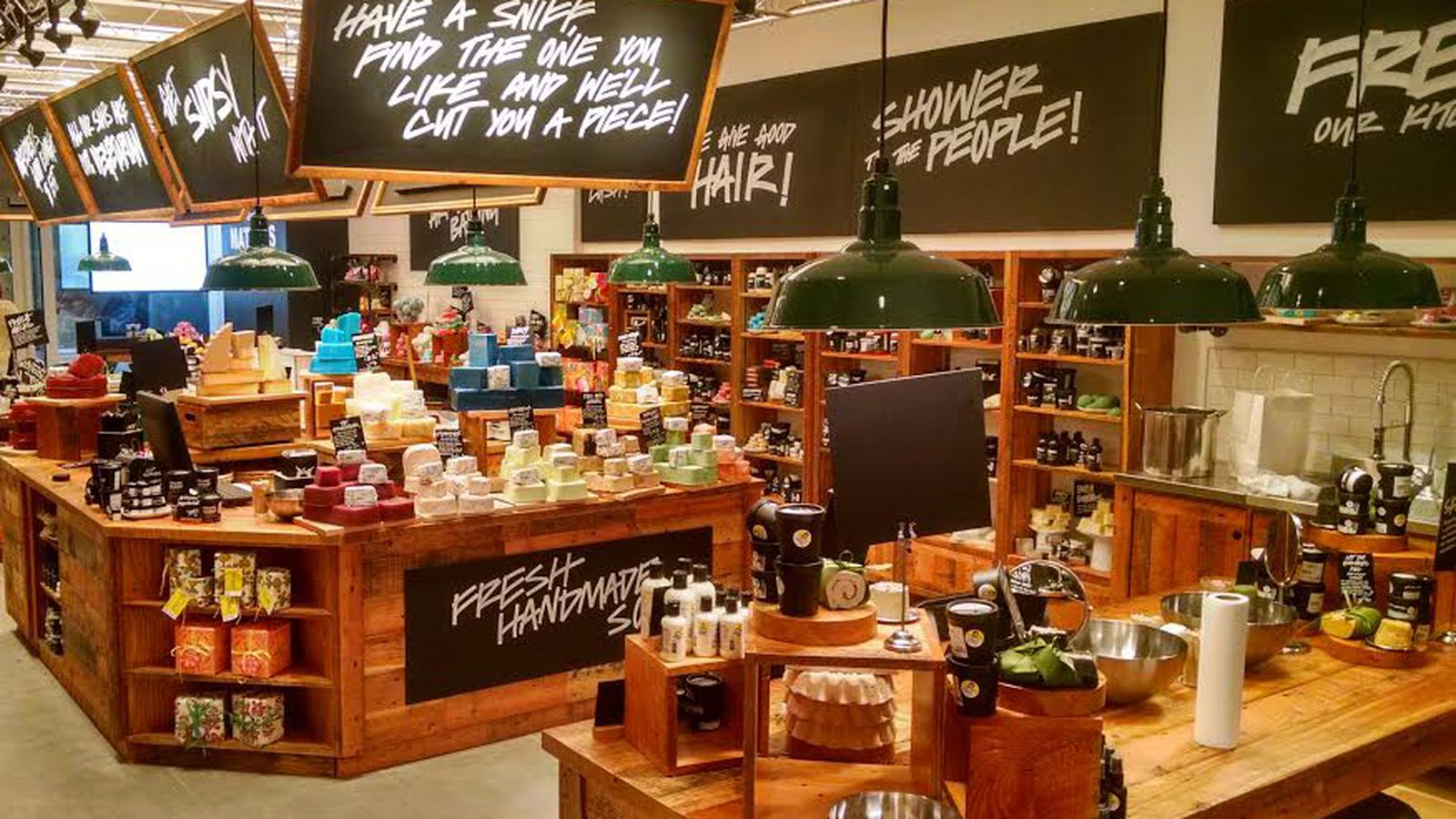Lush Reopens Herald Square Store Adds A Fresh Bar Racked Ny