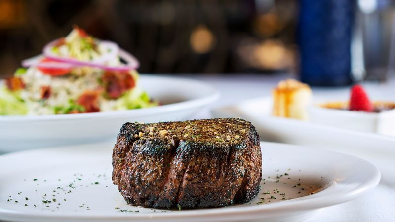 Filet mignon at Perry's