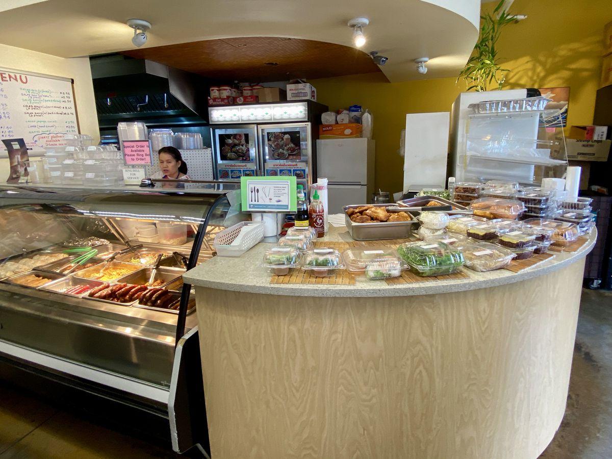 Lily Market deli counter