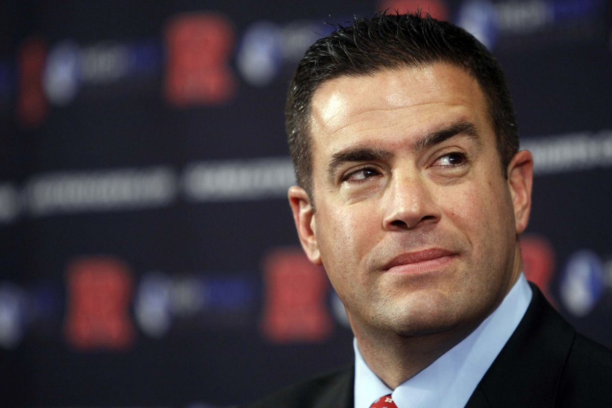 Rutgers athletic director Tim Pernetti