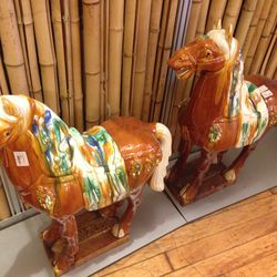 Horse statues, $125 each (was $250)