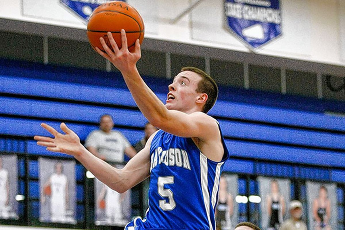 Hilliard Davidson senior wing Max Huber was the top overall performer on Sunday