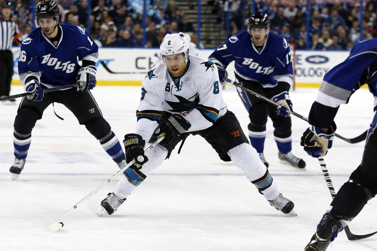 When the Lightning last played San Jose in Tampa, they were wearing their Alternate Uniforms too. Odd coincidence, no?