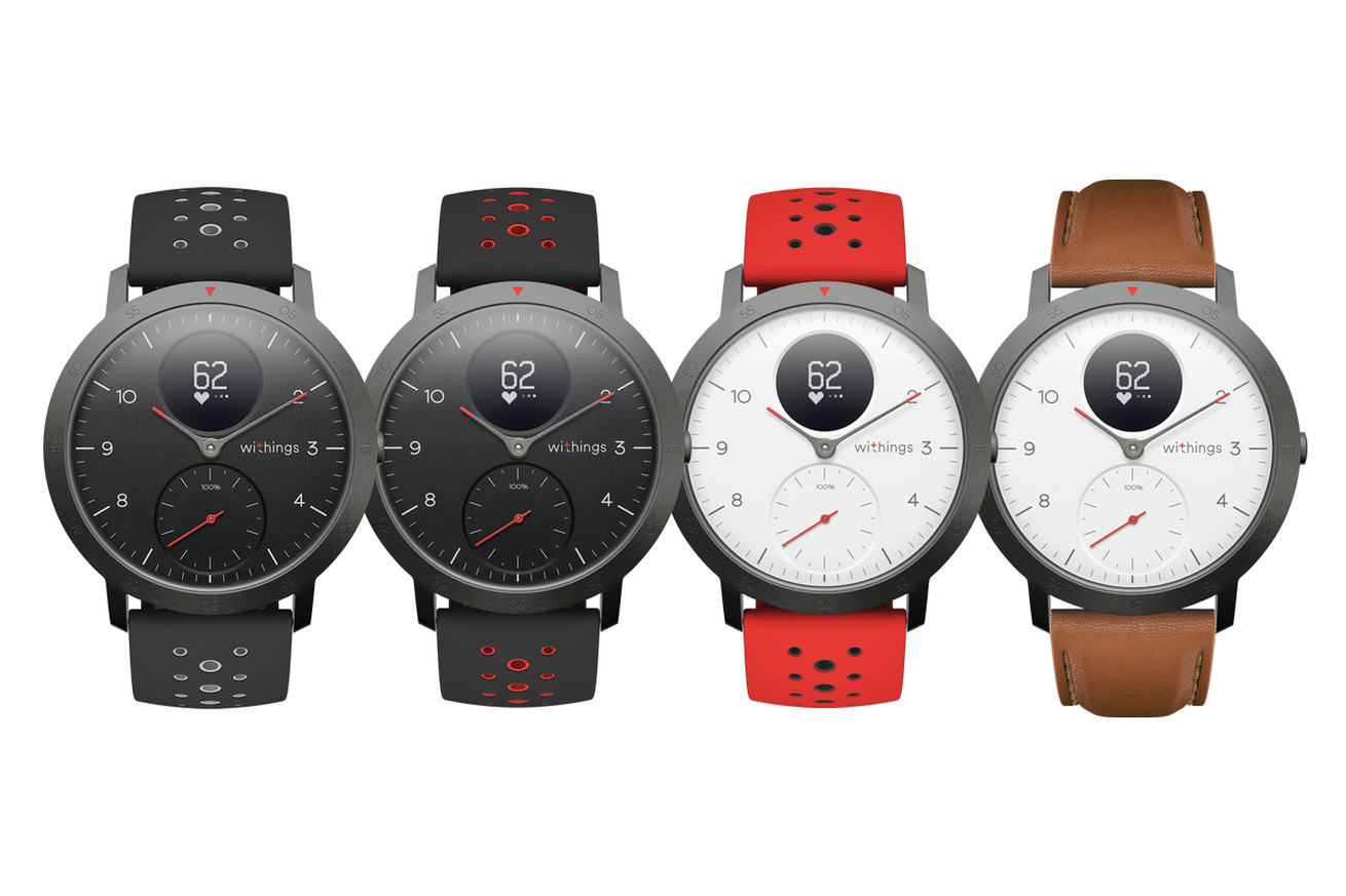 withings releases first smartwatch after buying itself back from nokia