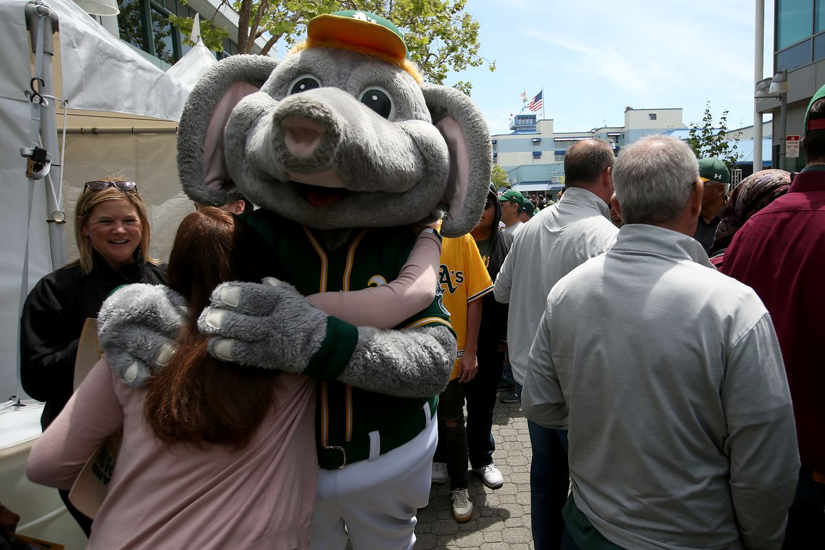 Oakland Athletics Fans Rally