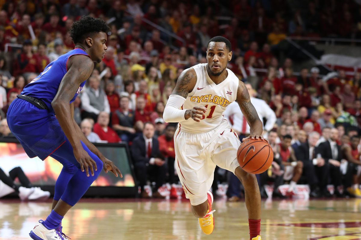 0a7724b99 2017 NBA Draft  Iowa State PG Monte Morris Drafted No. 51 Overall by Denver  Nuggets