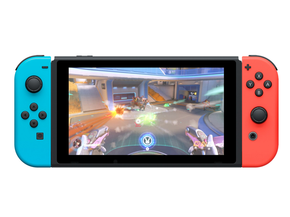 The Switch turns Overwatch into a great second-screen game 1