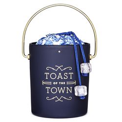 Steal the Spotlight Champagne Bucket Bag ($298)