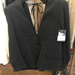 United Bamboo open-backed blazer, size 0, $156.60 (from $522)