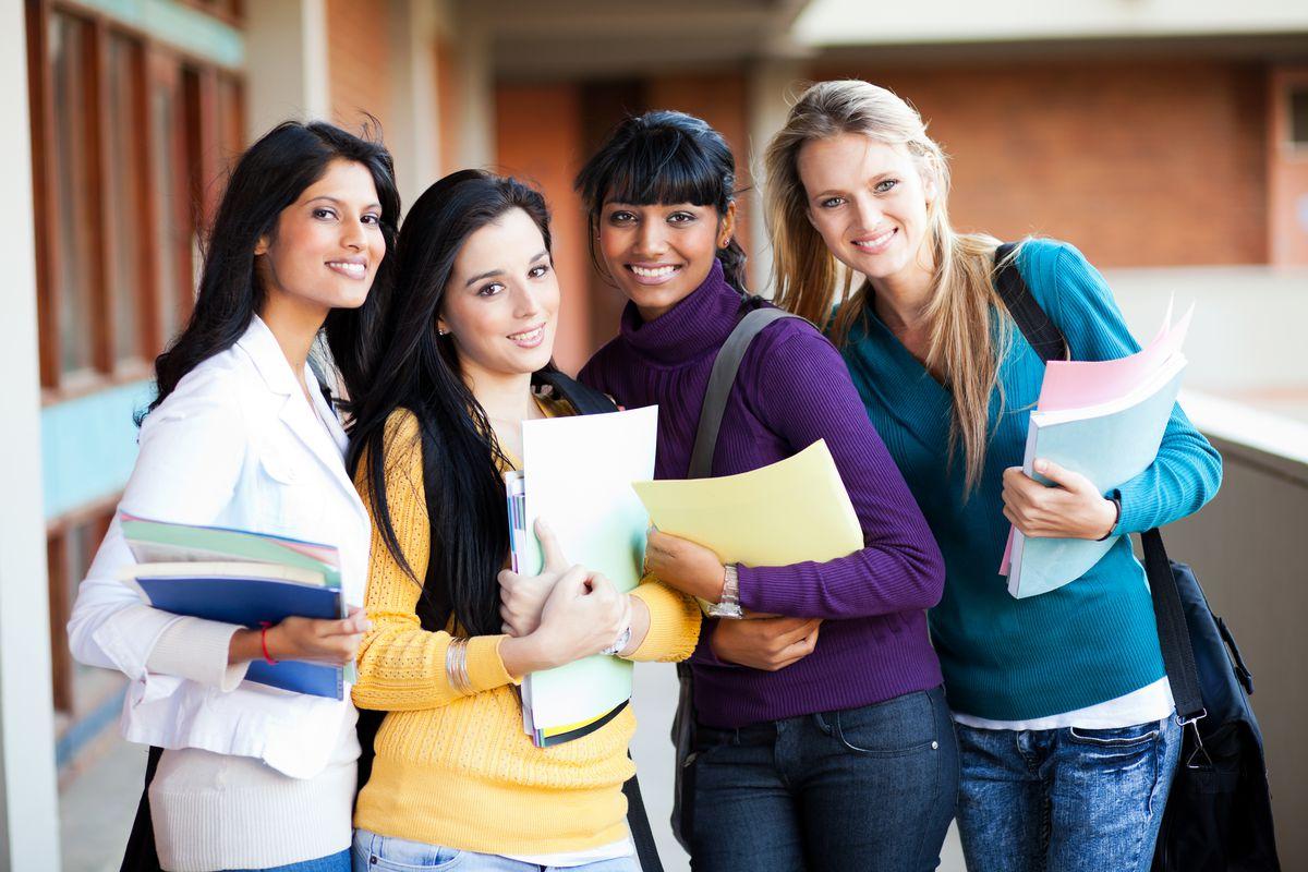 women college students