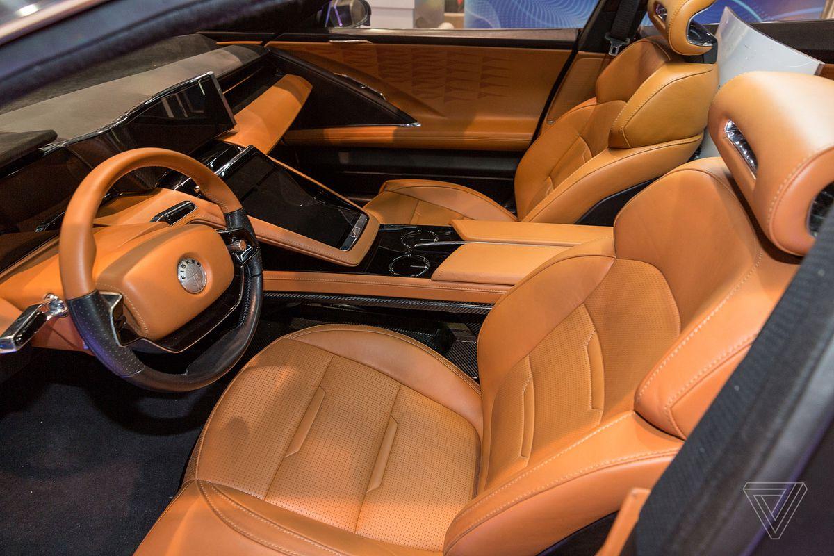 Fisker S Autonomous Emotion Electric Car Promises 400 Miles Of