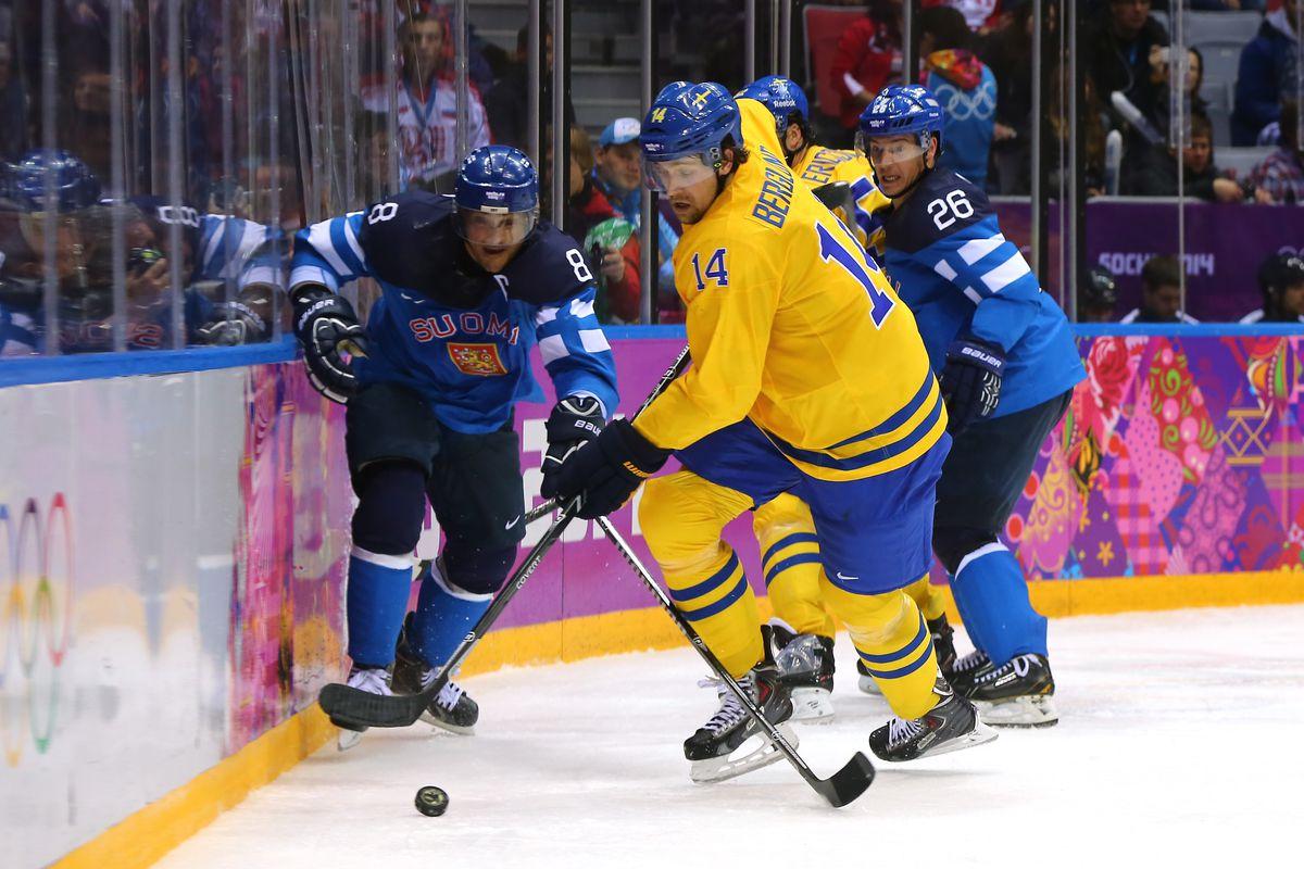 Ice Hockey - Winter Olympics Day 14 - Sweden v Finland
