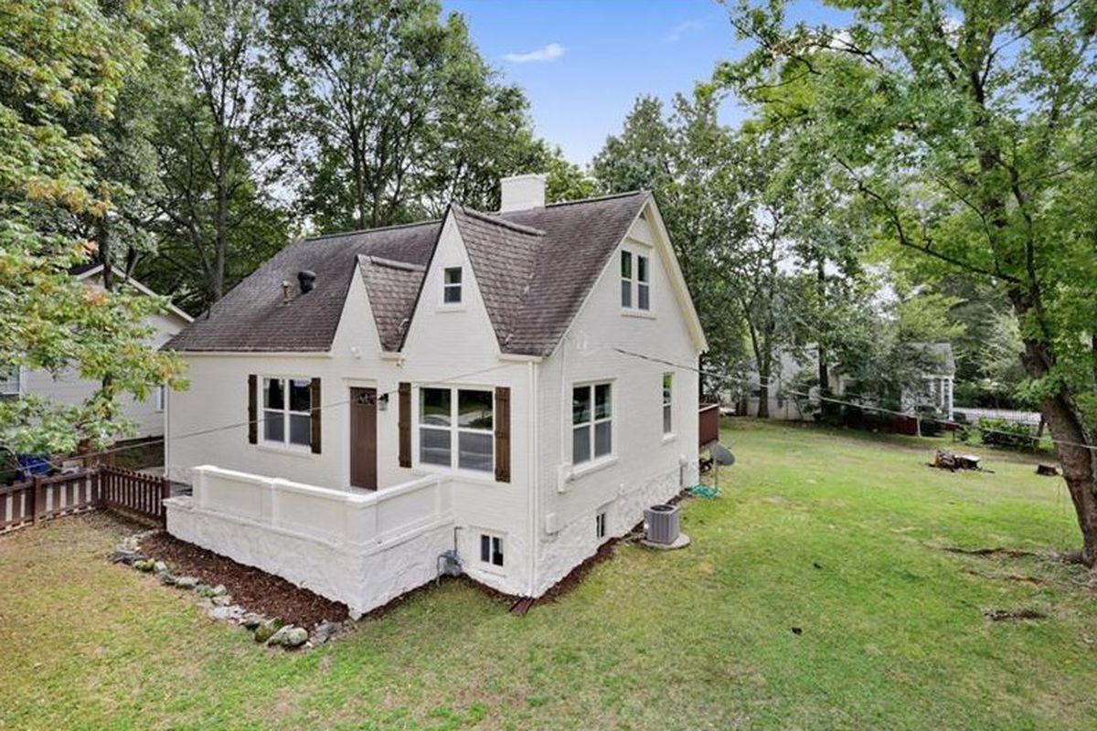 A renovated cottage in the Howell Station neighborhood west of Midtown.