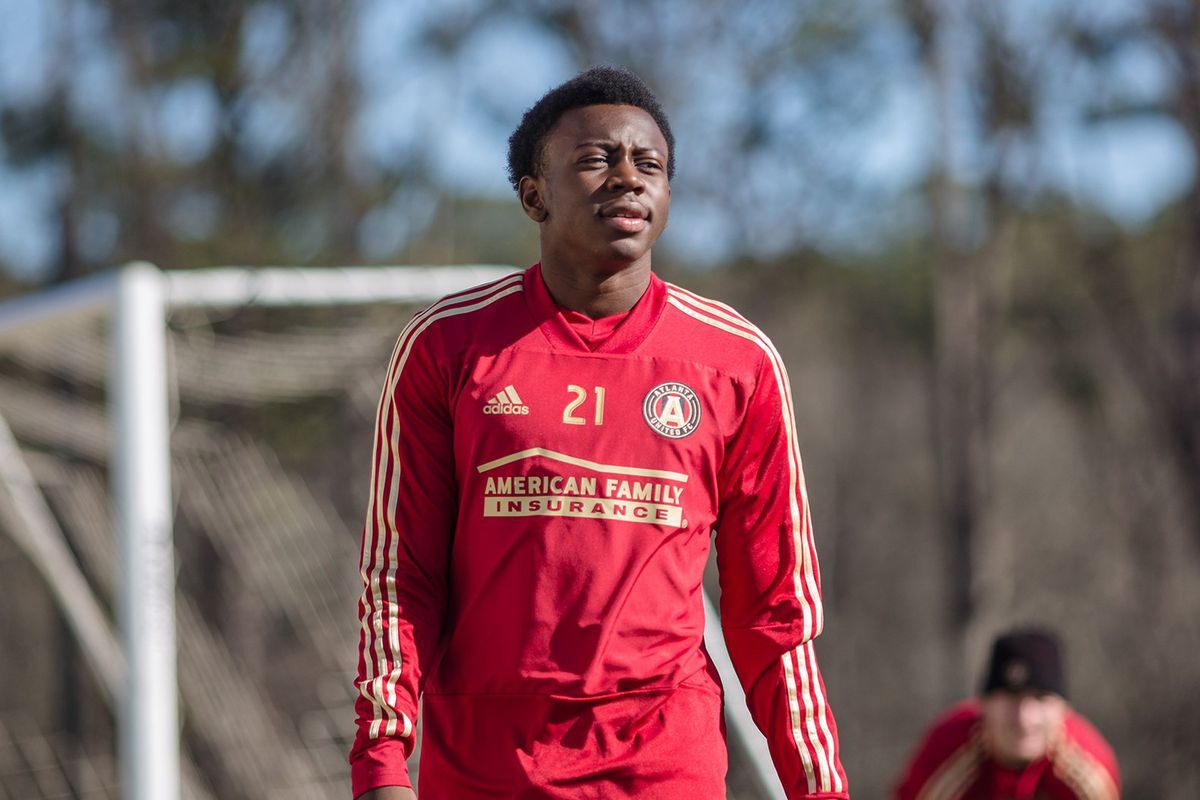 quality design befd3 59473 George Bello: Atlanta United's 16-year-old wonderkid on the ...