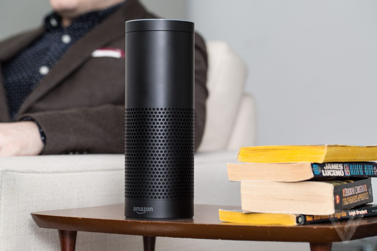 Amazon Echo at lowest price of the year
