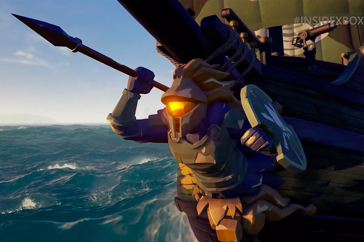 Log into Sea of Thieves to get a Halo ship - Polygon