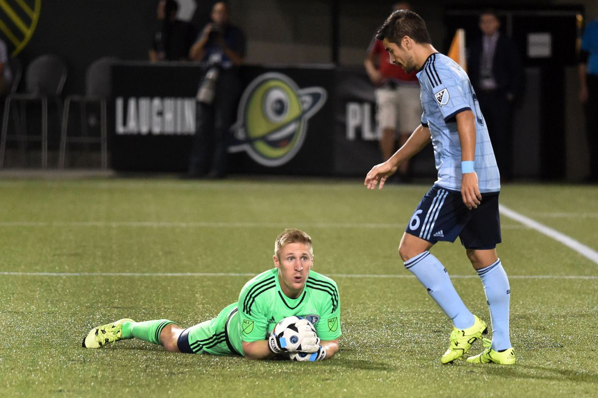 Just like this ball, Sporting KC are safe in Tim Melia's hands for 2016.