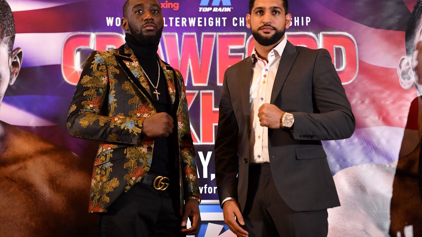 Terence Crawford, Amir Khan appear on First Take