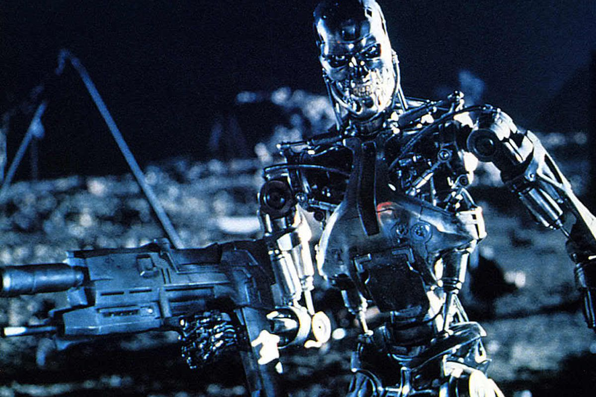 Musk is helping to ensure that this scene from Terminator II isn't the future of humanity.