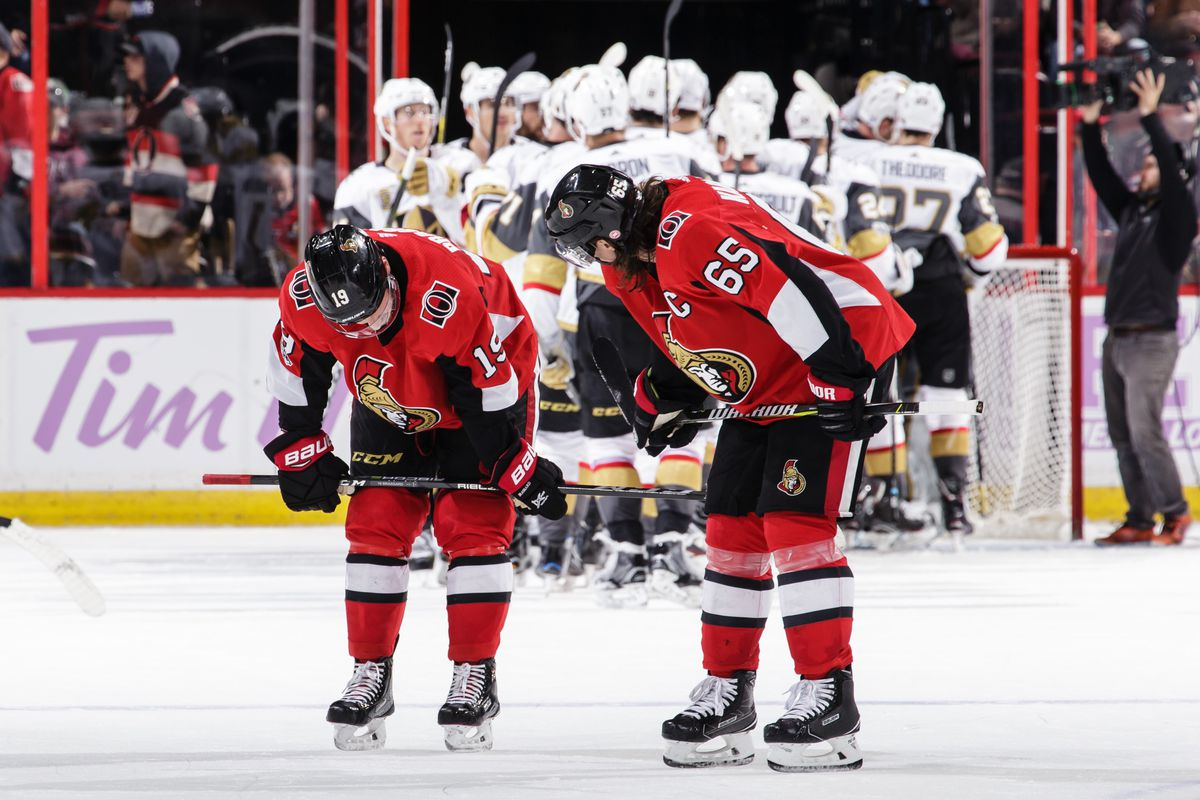 Vegas Golden Knights v Ottawa Senators