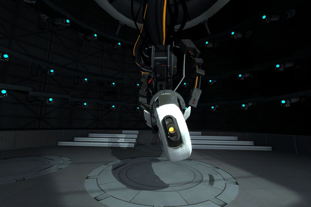 Watch glados from portal explain the difference between fission portal glados voltagebd Images
