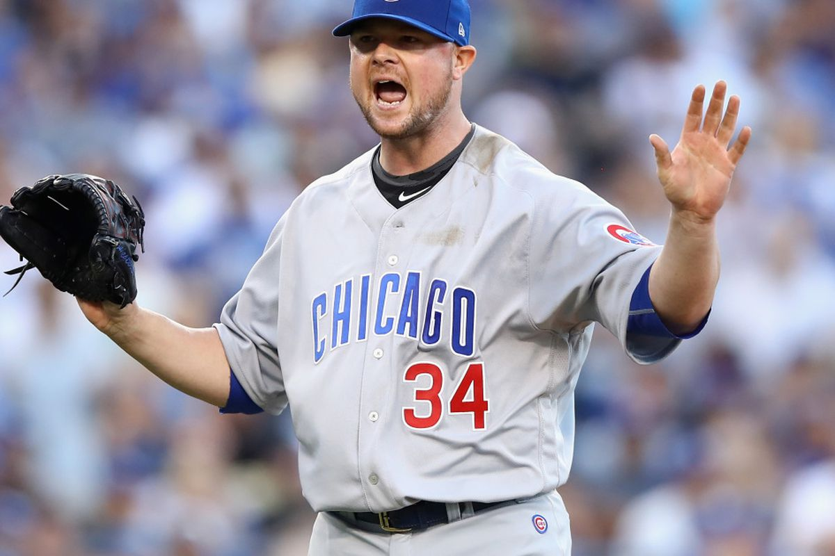 sports shoes 7e895 70ec5 Jon Lester All-Star Game 2018: Cubs pitcher solves jersey ...